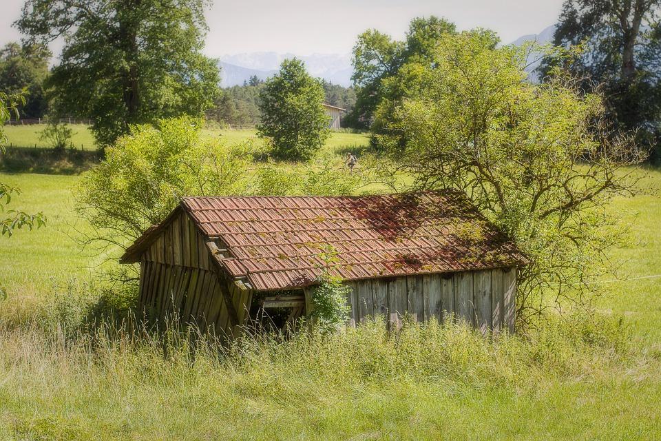 forfaldent hus